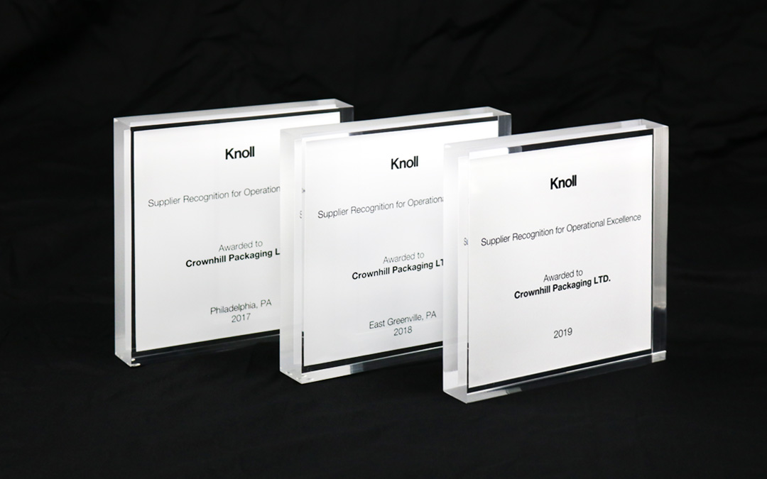 Crownhill Awarded Knoll Award for 3rd Consecutive Year
