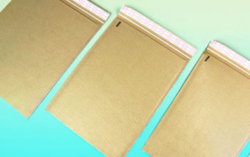 Curbside recyclable Ecojacket mailer